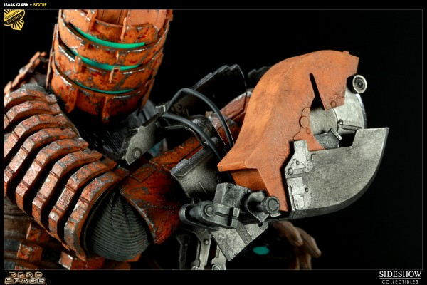 2001851 press02 600x400 Sideshow Collectibles Dead Space Isaac Clarke Statue is Gruesome and Gorgeous