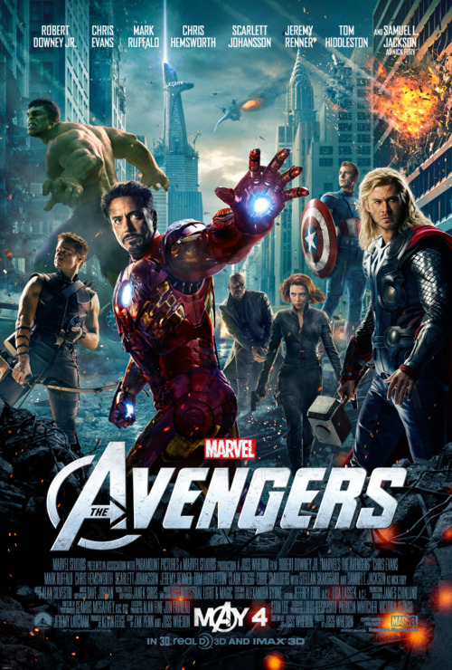 Marvel Avengers New Poster