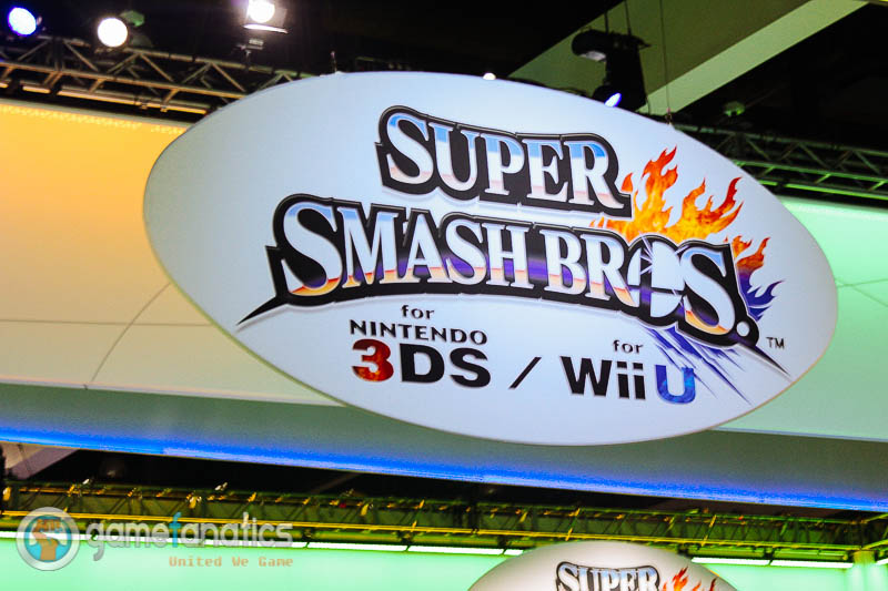 Super Smash Bros WiiU 3DSE3 2014 The Game Fanatics