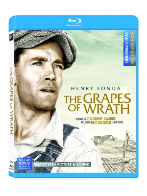 grapes of wrath 300x400 Two Academy Award Winning Classics Come to Blu ray