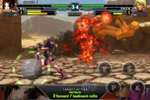 kof android 2 300x200 SNK Playmore Releases King Of Fighters Android for G Gee