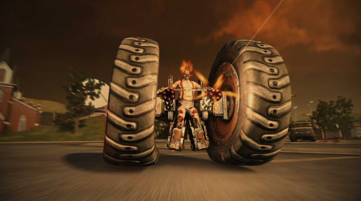 Twisted Metal's Axel