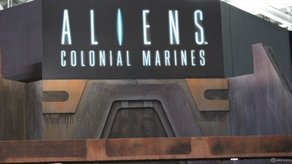 Aliens Coloniel Marines PAX East 2012 2 600x336 Aliens: Colonial Marines Release Date Announced With Terrifying Trailer