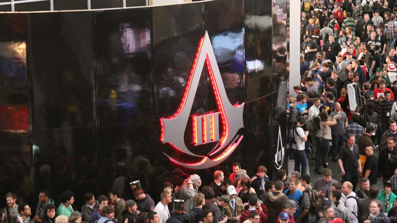 Assassins Creed 3 line PAX East 2012