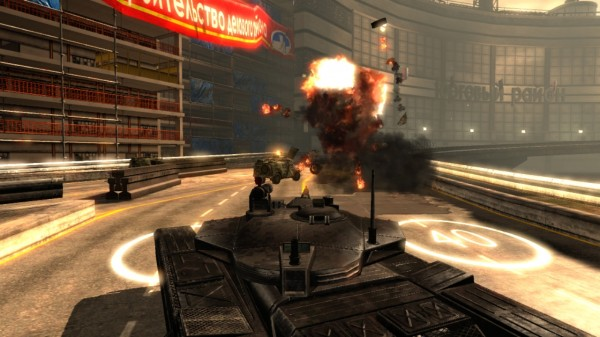 GoldenEye 007 Reloaded Explosion 600x337 Goldeneye 007: Reloaded Now Available on PSN