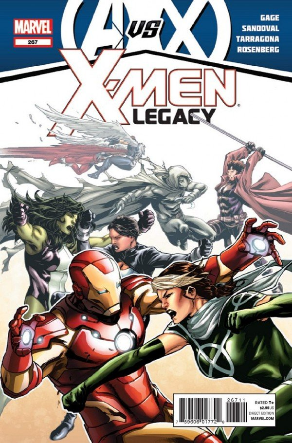 X Men Legacy 267 600x910 The Comic Fanatic   Week of 5/30: Wolverine and the X Men, X Men Legacy, Luther Strode, American Vampire, DMZ
