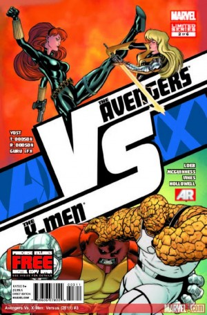 avengers vs x men vs 3 300x455 The Comic Fanatic: Week of June 13: Avengers Vs X Men, Uncanny X Force, American Vampire, Invincible