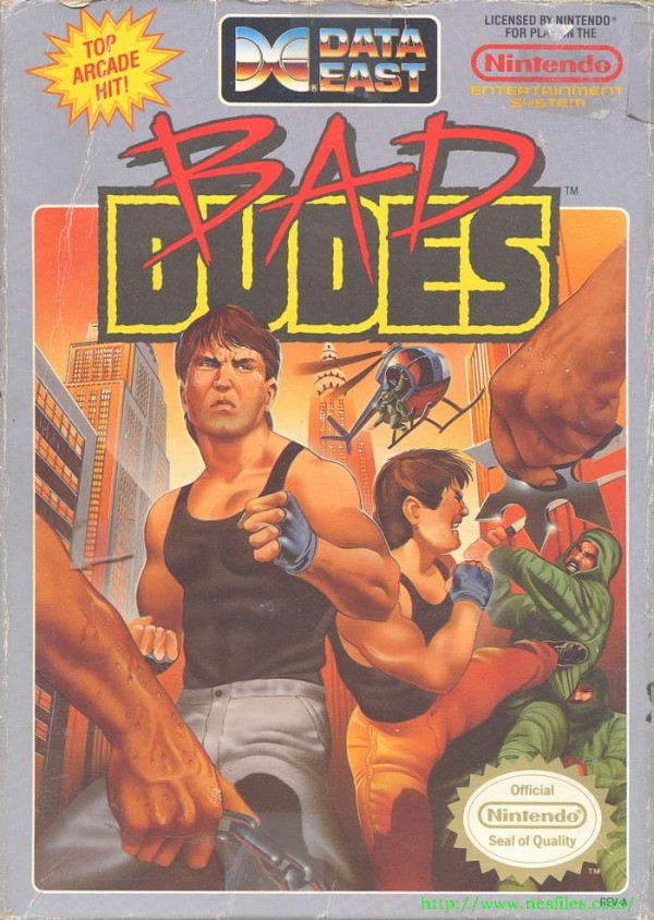 Bad Dudes Cover 600x844 Fanatical Five: Top 5 Patriotic American Games