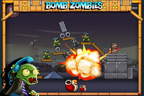 mza 4158078763418680251.320x480 75 FREE GAME ALERT   Bomb The Zombies Now Available