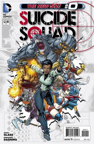suicide squad 0 300x461 The Comic Fanatic   Week of 9/20: DCs Zero Month