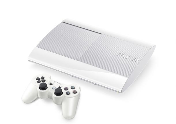 white2 TGS 2012 | Sony Unveils New Playstation 3 Model