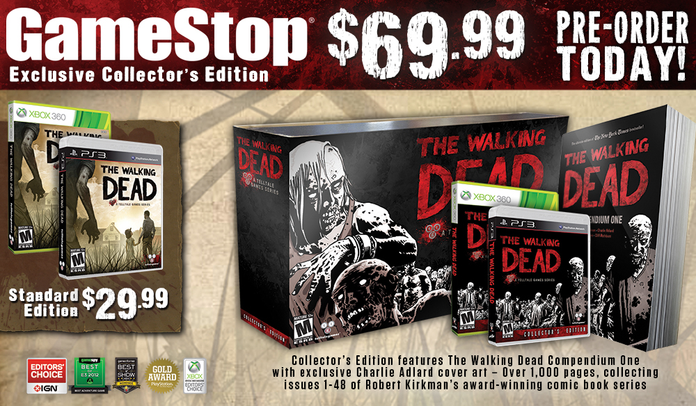 TWD_Collectors Edition_GameStop