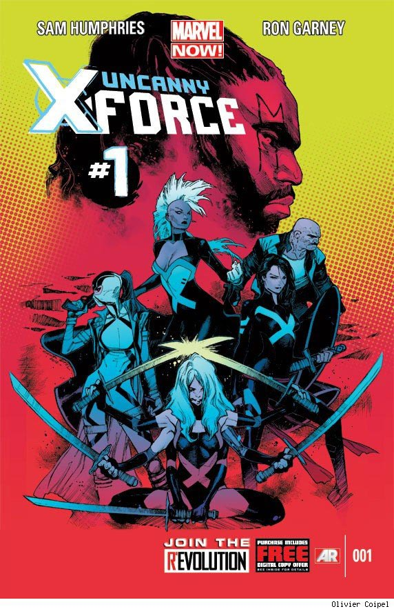 uncanny x force marvel now The Comic Fanatic: Marvel NOW Rundown