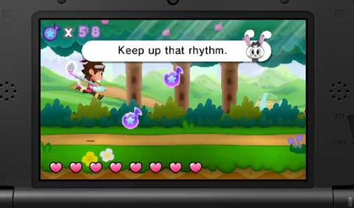 HarmoKnight, a new fun-looking rhythm game coming to the 3DS via eShop. Made by GameFreak, it includes the Pokemon theme as a bonus track. Available March 28th with a demo landing March 14th.
