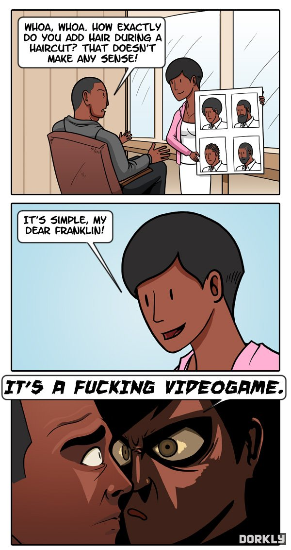 Grand Theft Auto V Haircuts Finally Explained The Game Fanatics