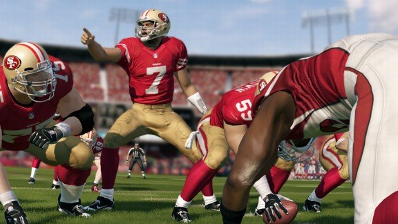 Wanna do the Kaepernick? Adding the option to Madden 25 is a new element that really adds to the gameplay.