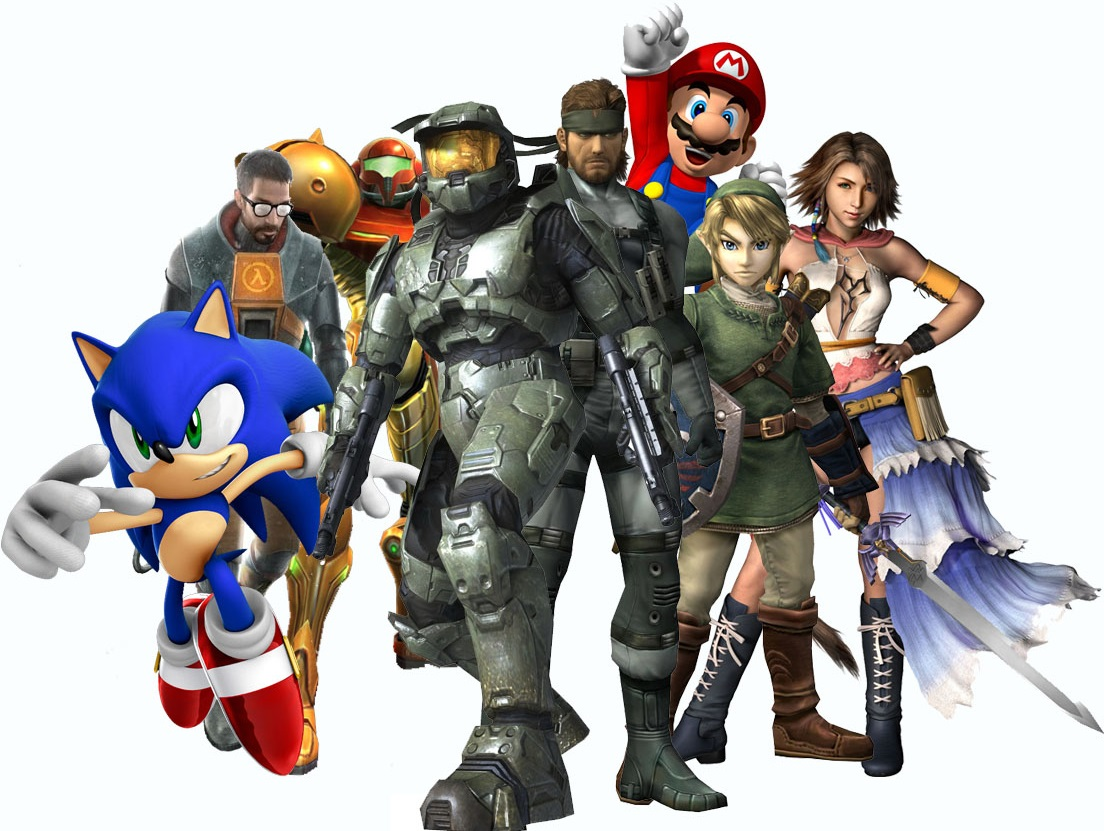 We live in a world with video games in it. Have you ever thought about how weird and wonderful that is?