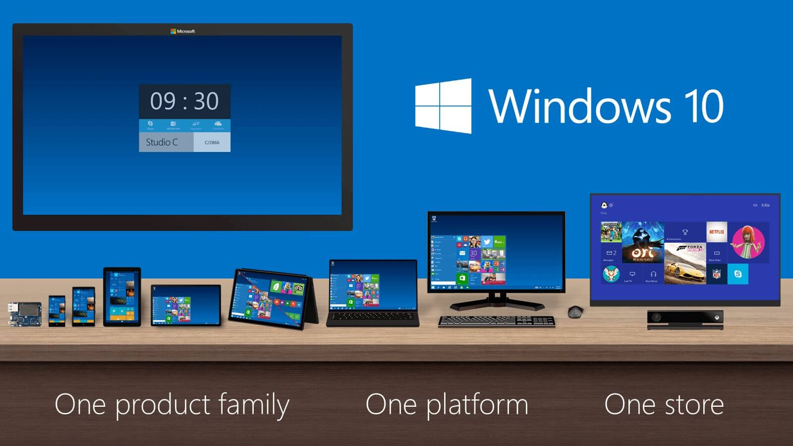 Windows 10 and Xbox One