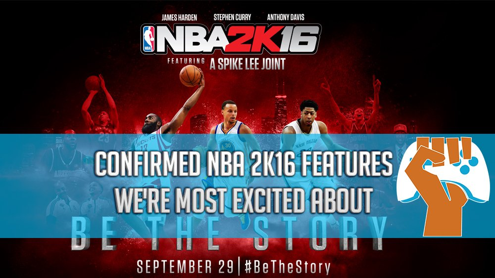 NBA 2K16 features