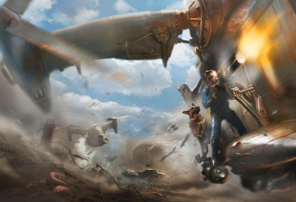 Fallout 4 Concept Art The Game Fanatics