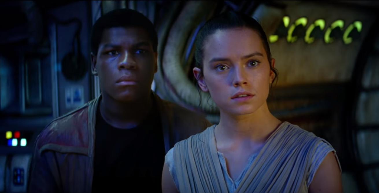 Star Wars The Force Awakens Finn Rey The Game Fanatics