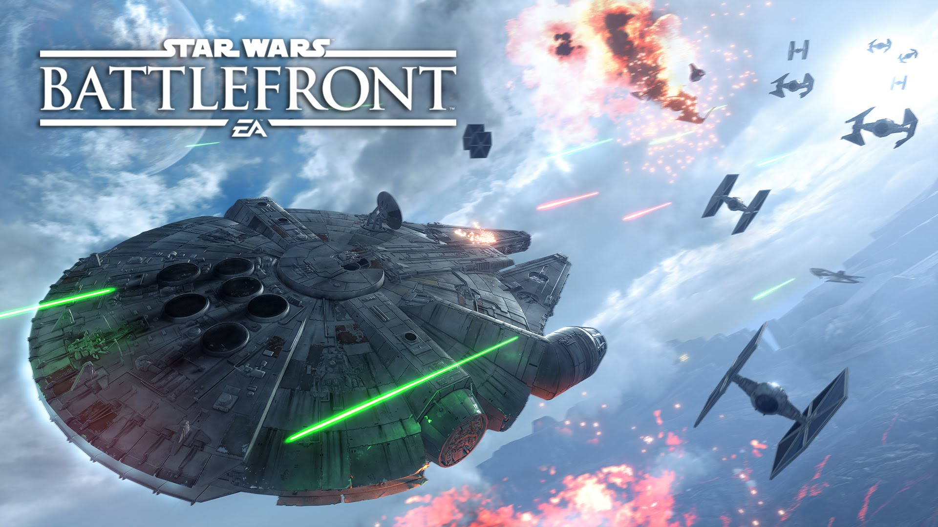 Star Wars Battlefront is Live, Let's Play!