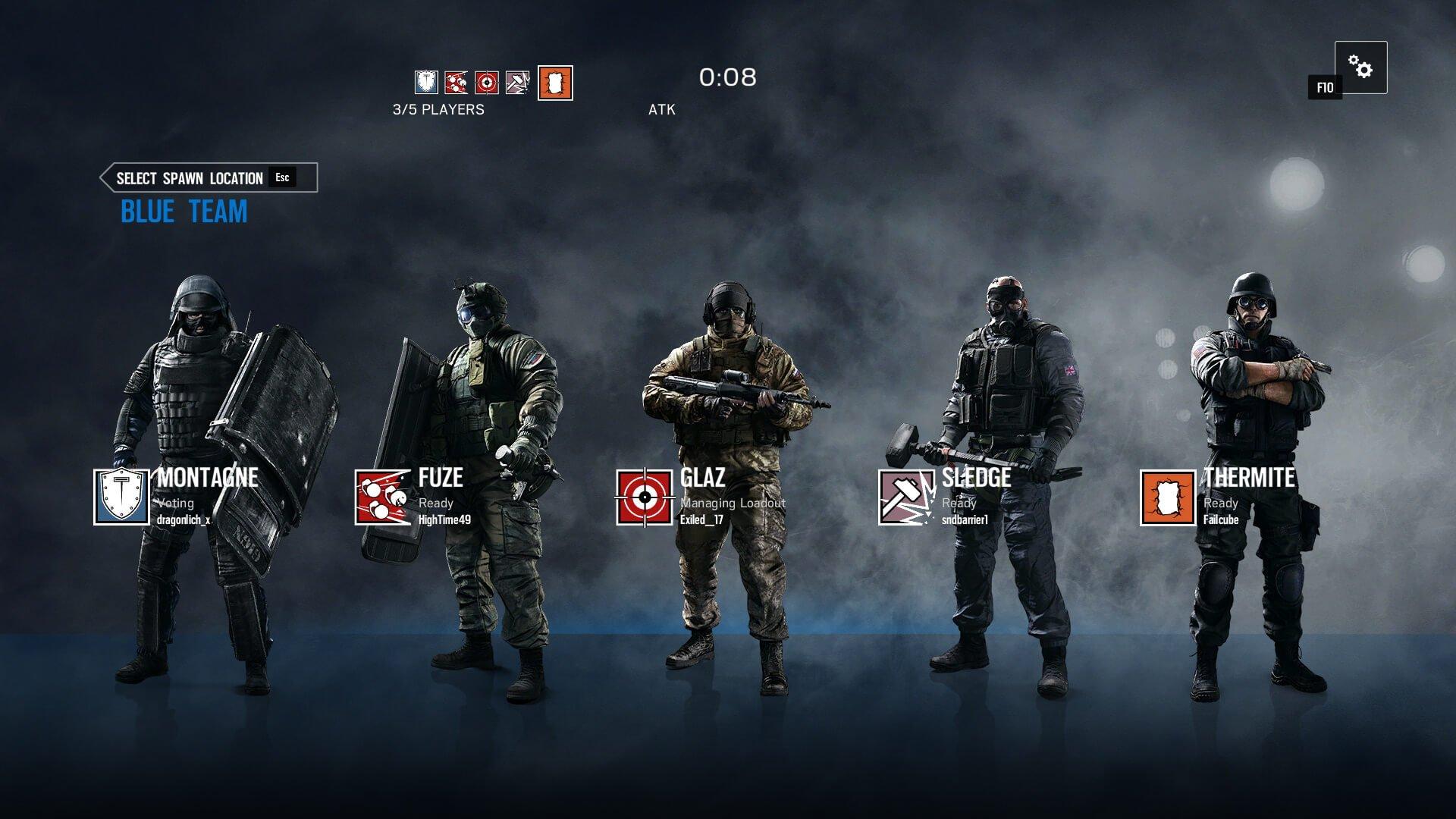 how to change rainbow six siege name