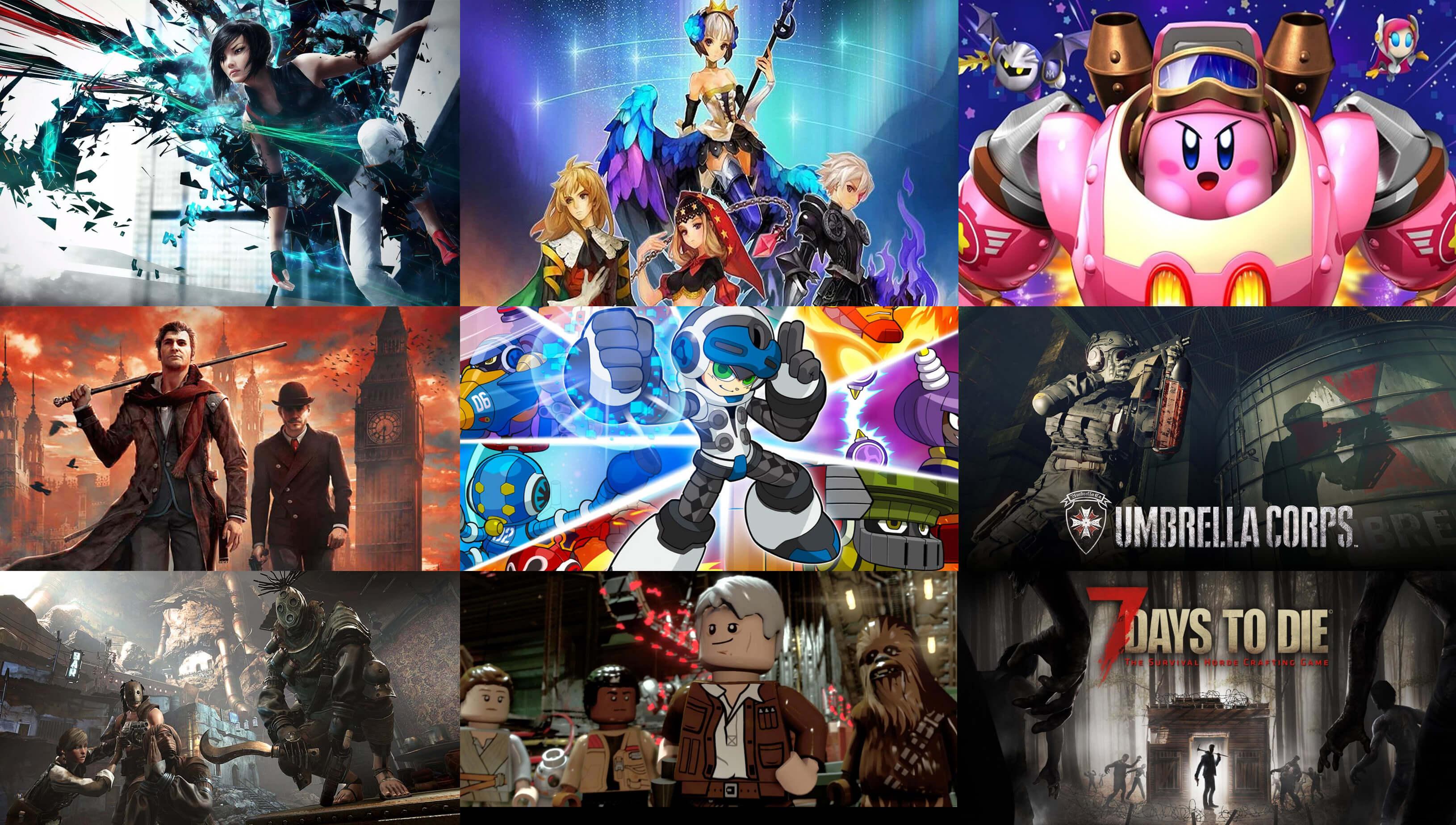 Upcoming Games June 2016