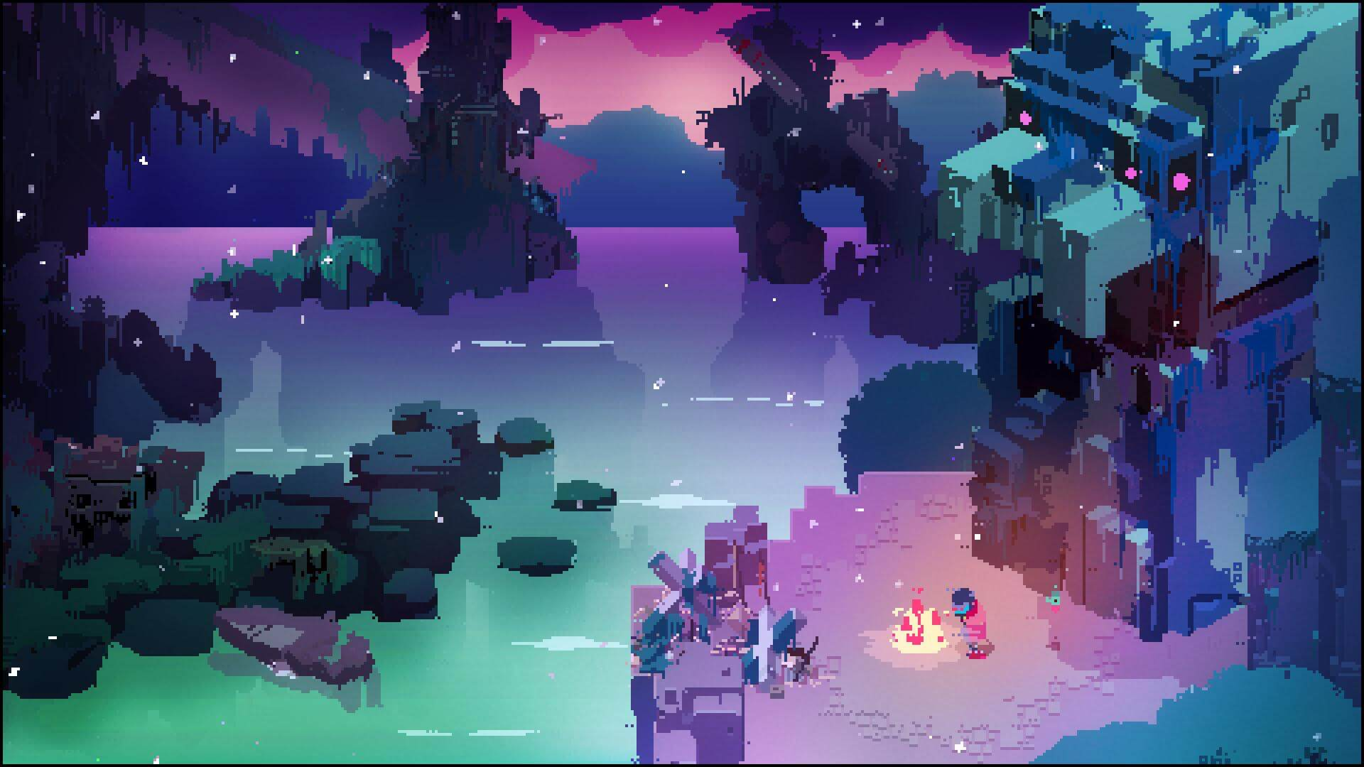 Hyper Light Drifter Campfire
