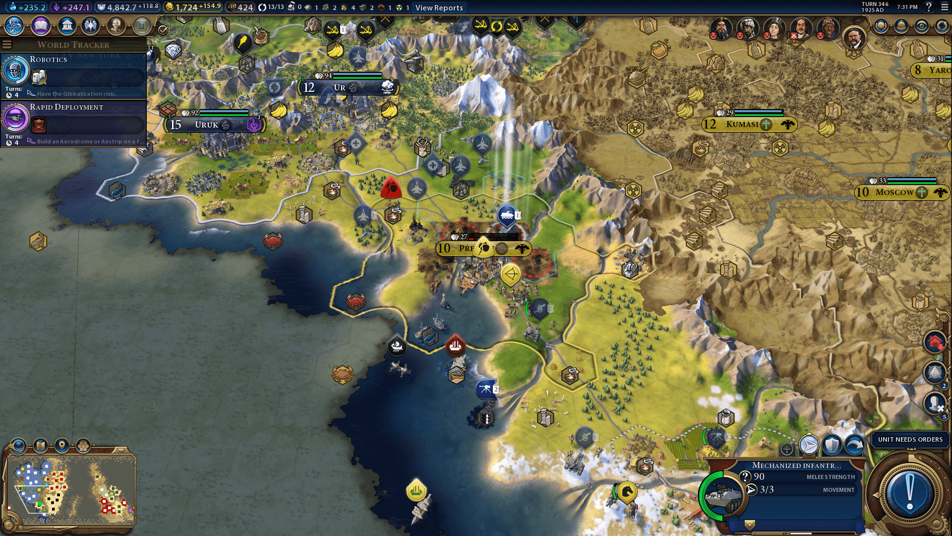 Civilization 6 Currently Has A Game-Breaking Bug