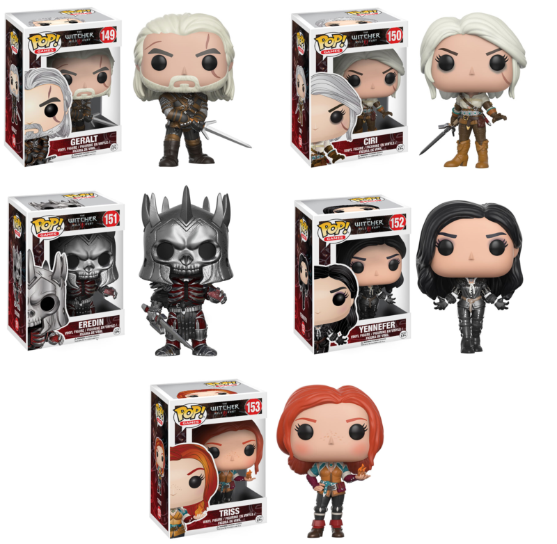 Funko Pop! The Witcher Figures