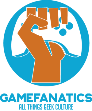 The Game Fanatics Geek Culture Logo
