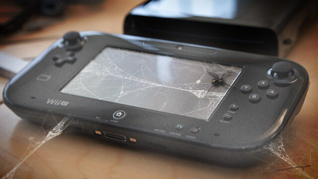 Be sure to check to see if your Wii U has cobwebs. Or spiders.