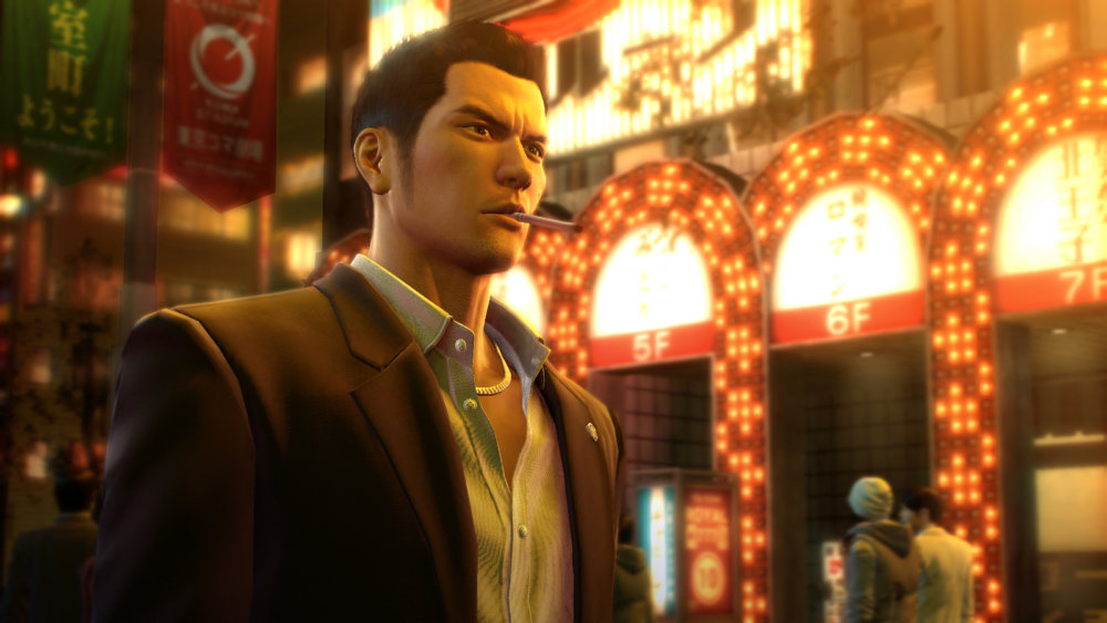 Yakuza 0 review - cigarette