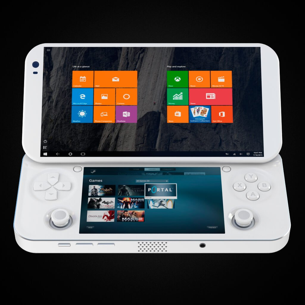 pgs lab 39 s portable console puts pc gaming into your pocket. Black Bedroom Furniture Sets. Home Design Ideas