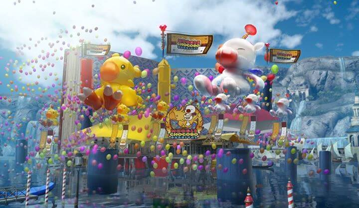 Moogle Chocobo Festival - Final Fantasy XV