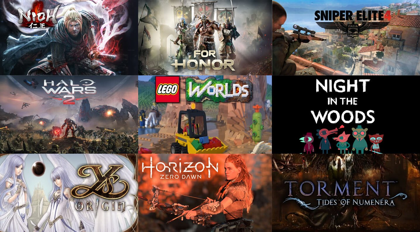 Upcoming Games February 2017