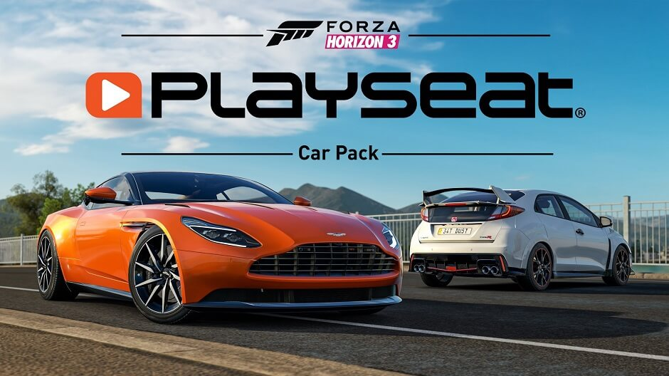 Watch Forza Horizon 3 February Playseat Car Pack Trailer Highlights