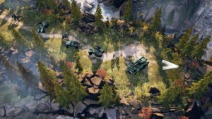 Halo Wars 2 ODST Tanks
