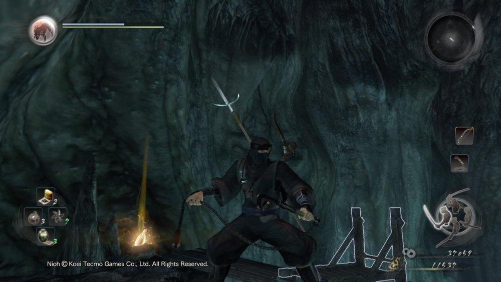 Nioh Early Ninja Build