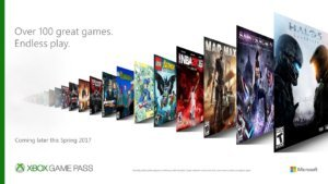 Xbox Game Pass Announcement