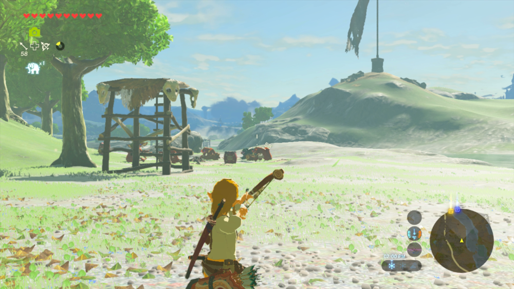 Breath of the Wild tips Bow