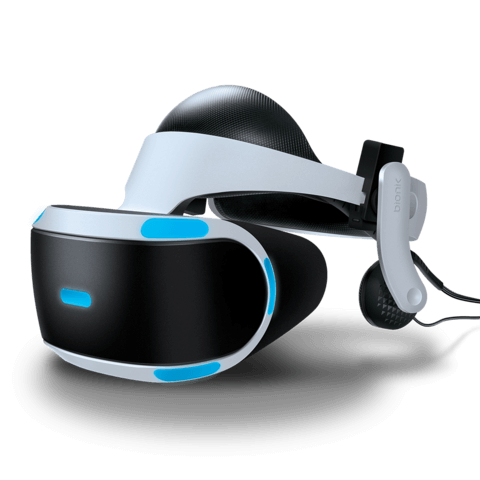 Mantis VR headphones with PSVR