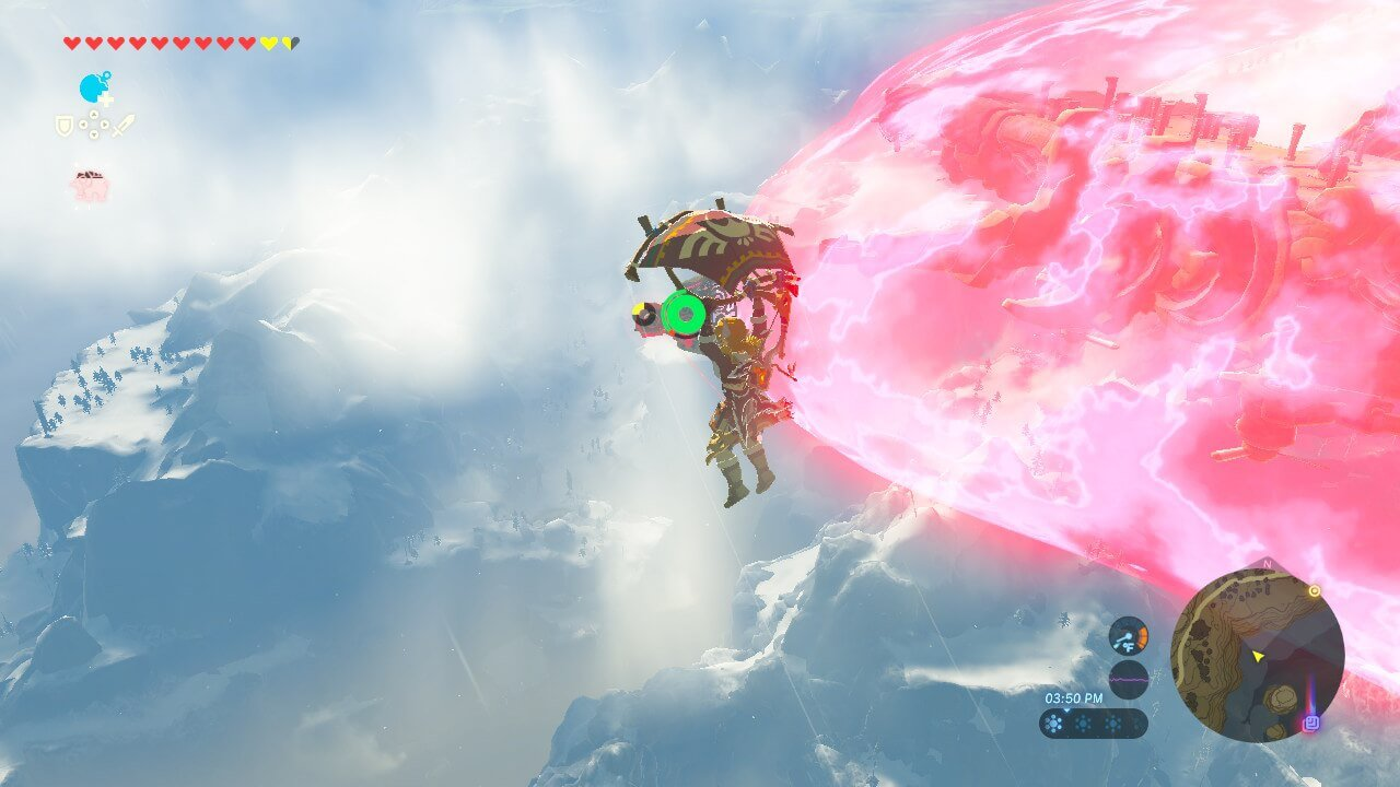 Breath of the Wild Aerial Battle
