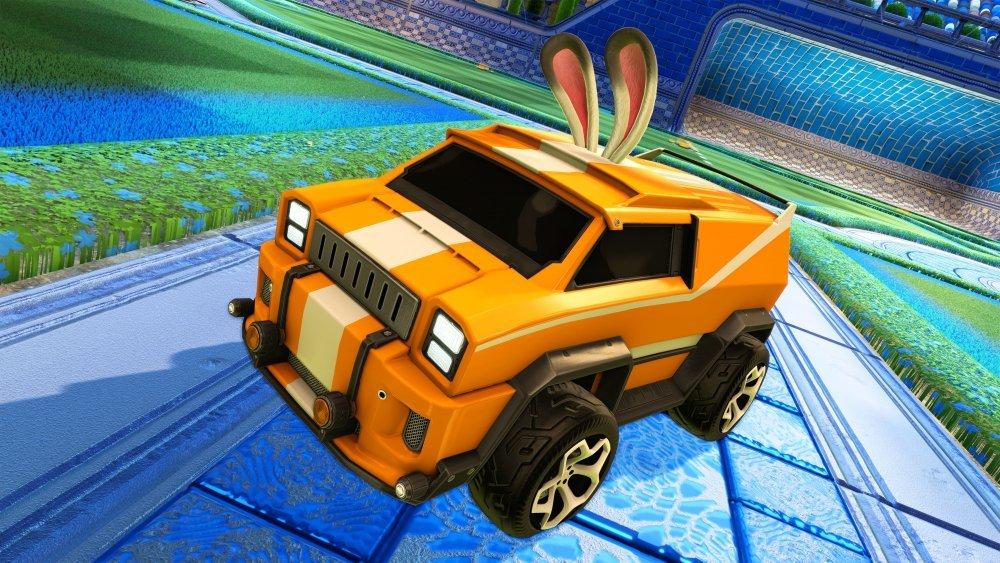 Rocket League Easter Bunny Topper
