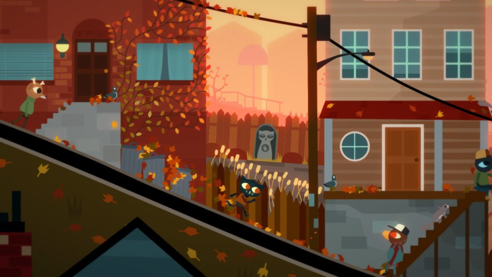 Night In The Woods Fall Scene