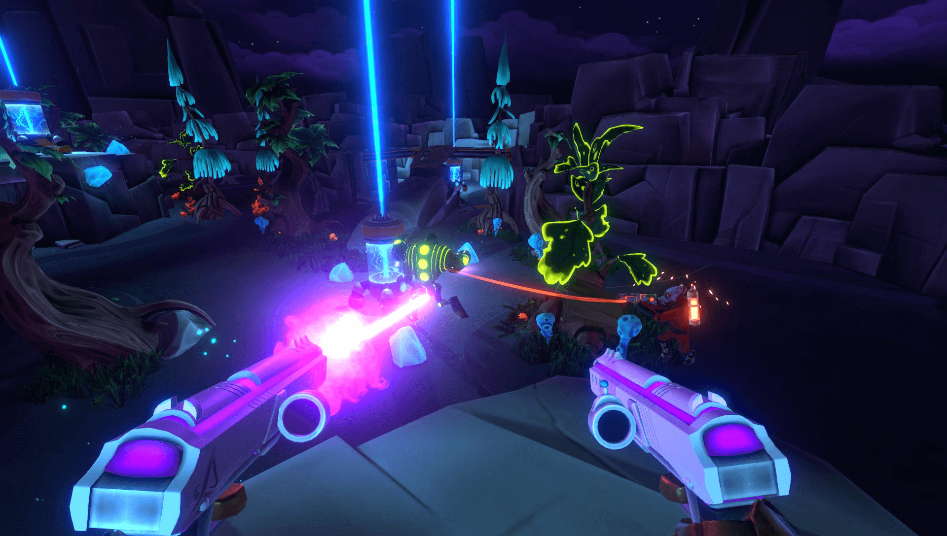 Aftercharge gameplay