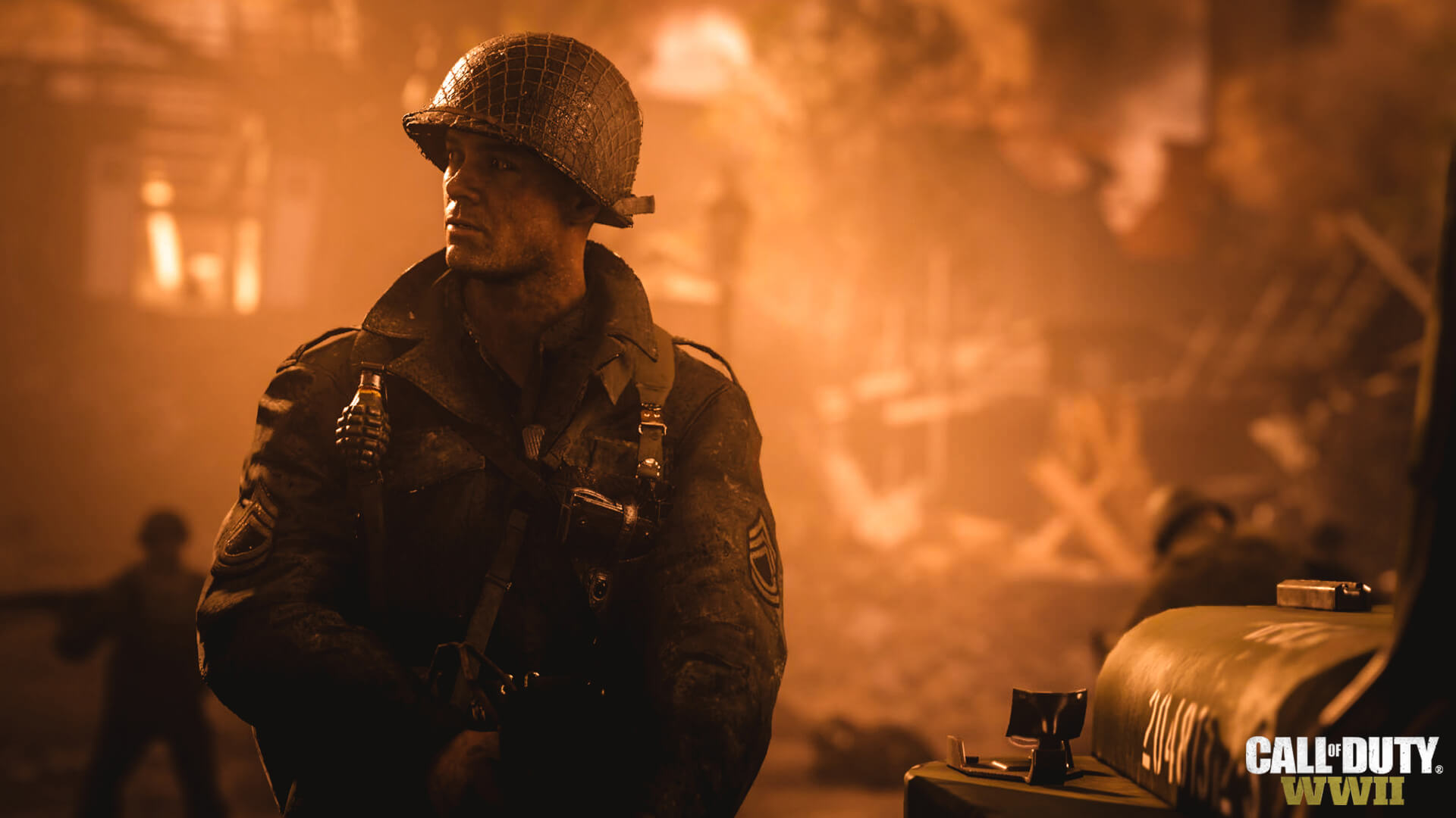 Call of Duty WWII Josh Duhamel
