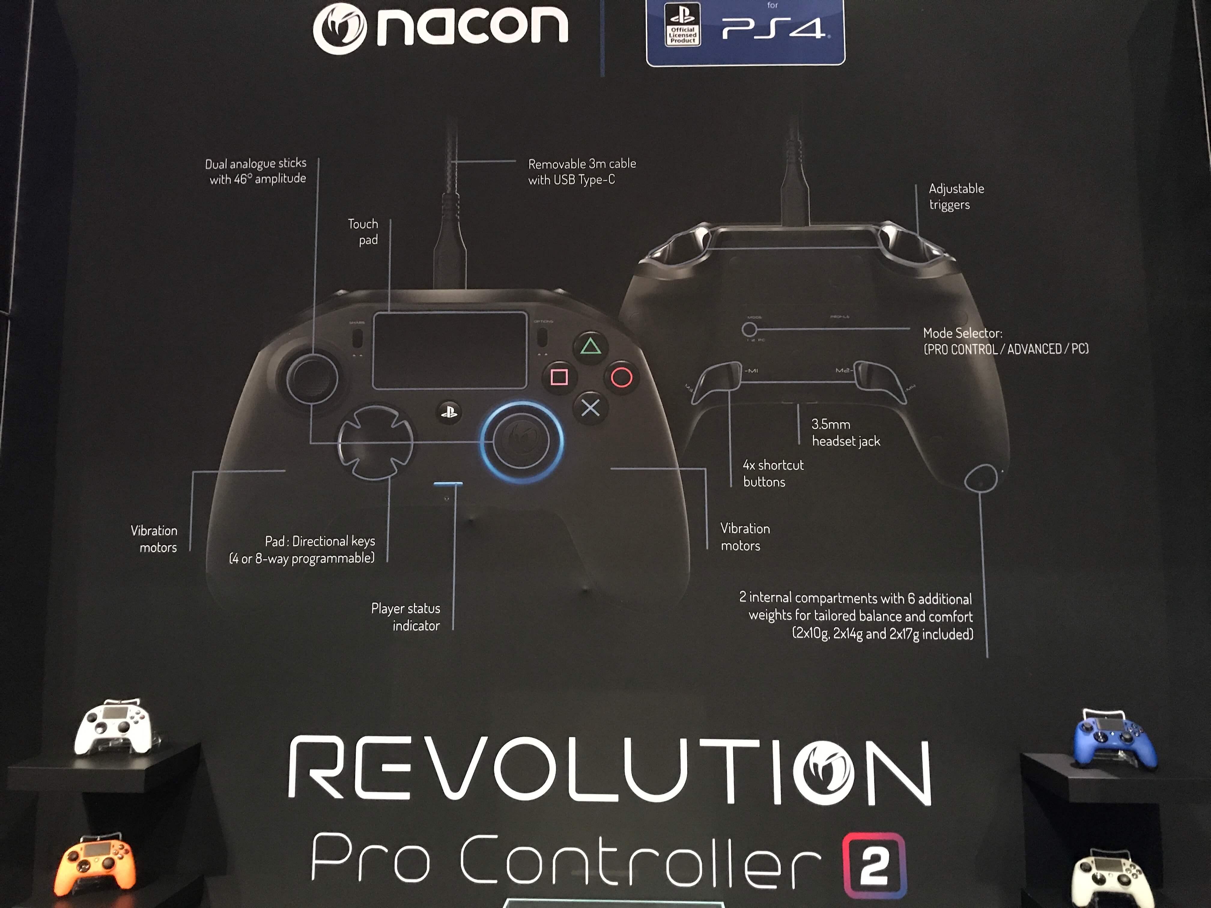 Nacon Revolution Pro 2 Revealed