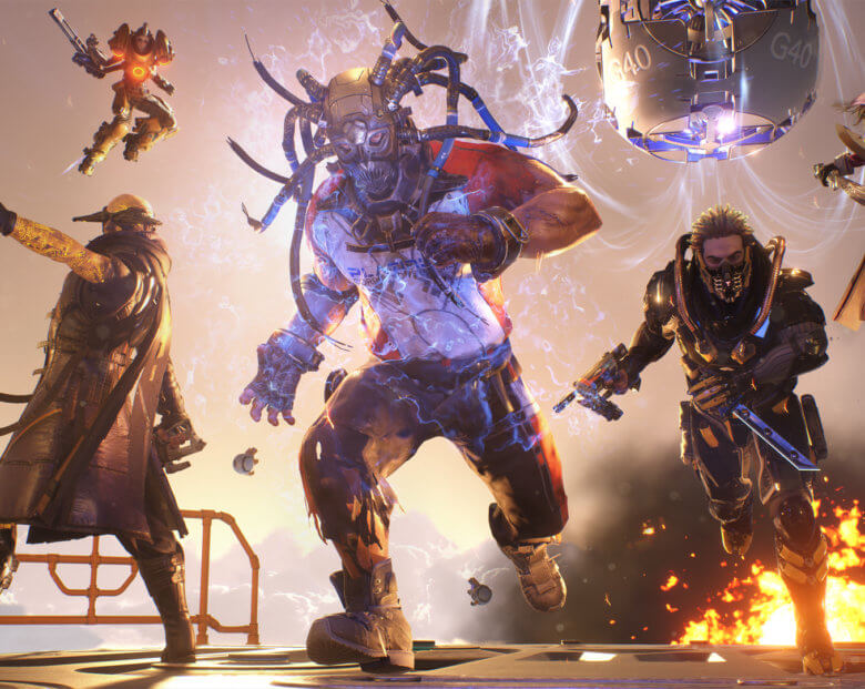 LawBreakers beta
